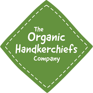 News, press, media info logo from The Organic Handkerchiefs Company