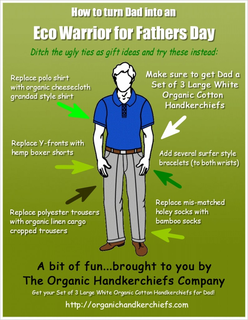 How-to-turn-Dad-into-an-Eco-Warrior-for-Fathers-Day-Infographic