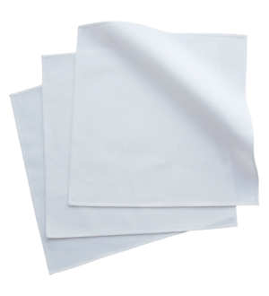 White Organic Cotton Handkerchiefs